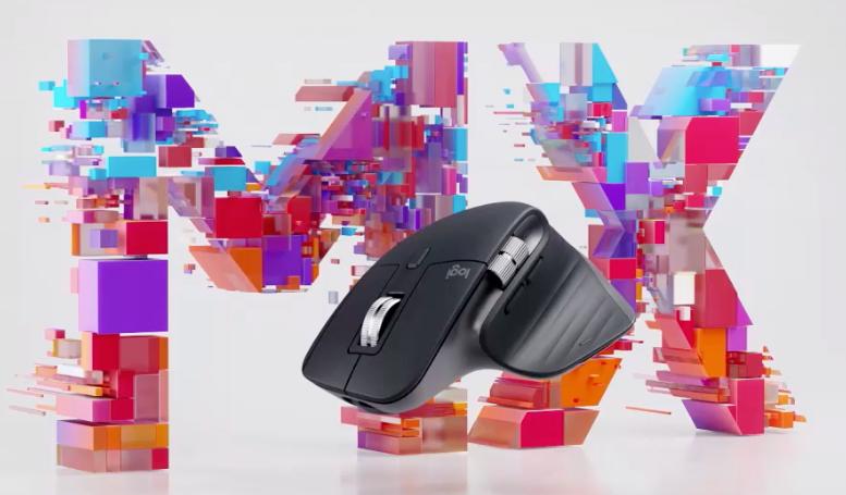 マウスは、ロジクールMasterシリーズ旧型。